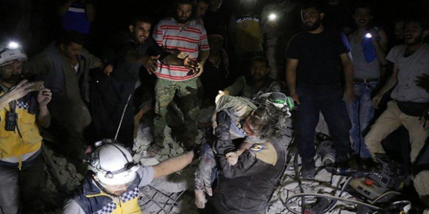Suriye'de bin 109 yardım çalışanı öldü