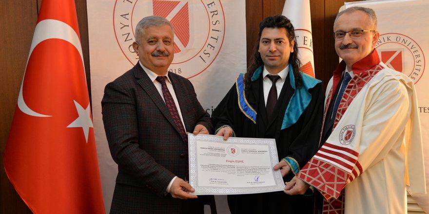 KTÜN'de ilk diploma heyecanı