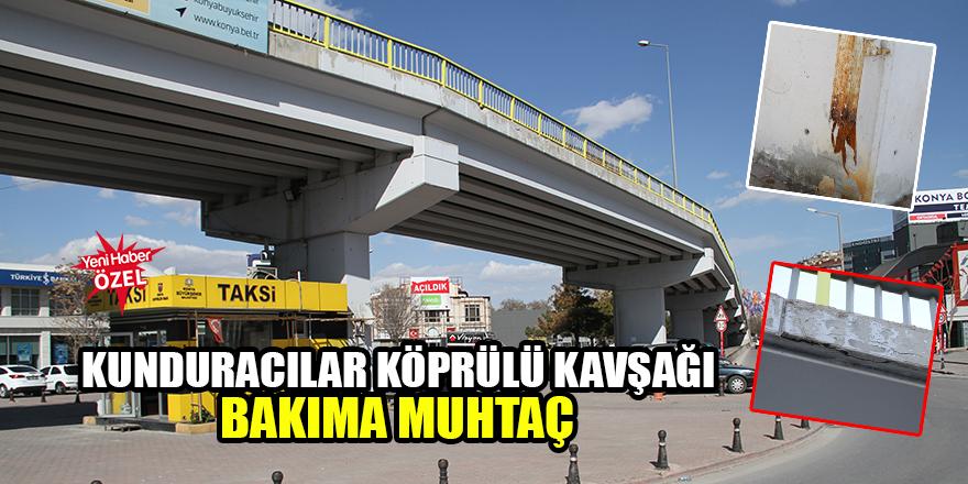 Kunduracılar Köprülü Kavşağı bakıma muhtaç