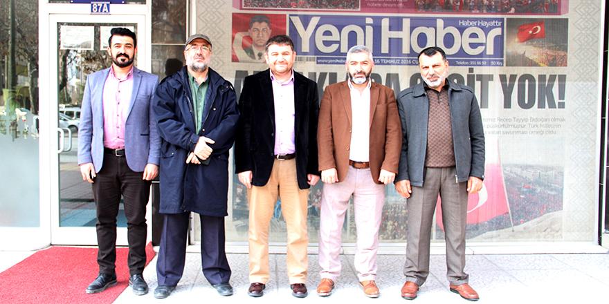 AYDER'den Yeni Haber'e ziyaret