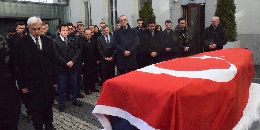 Furkan Kocaman için Varşova Büyükelçiliğinde tören düzenlendi