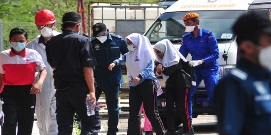 Malezya'daki kimyasal atık sızıntısı