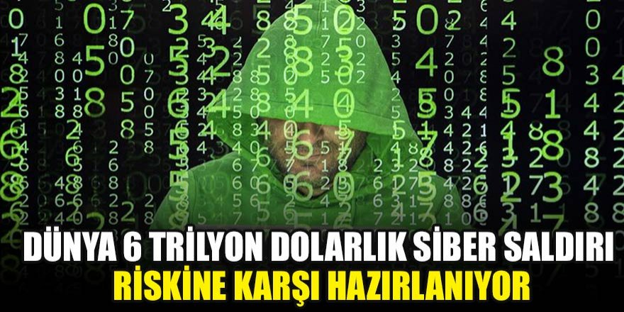 Dünya 6 trilyon dolarlık siber saldırı riskine karşı hazırlanıyor…