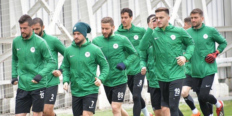Konyaspor, Rizespor maçına hazır