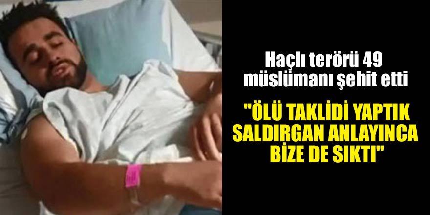 Saldırıdan yaralı kurtulan Türk vatandaşı konuştu…