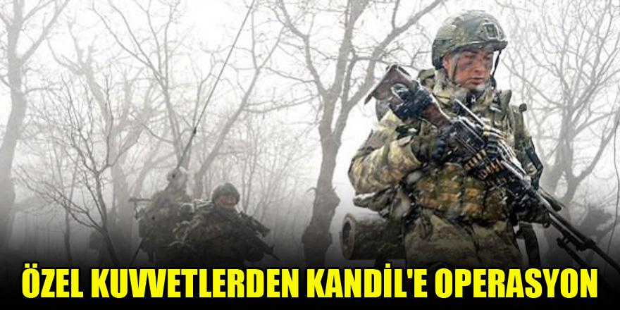 Özel Kuvvetlerden Kandil'e operasyon…