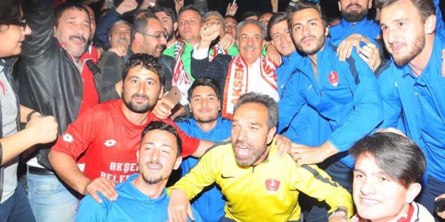 Akşehirspor zirveyi korudu!