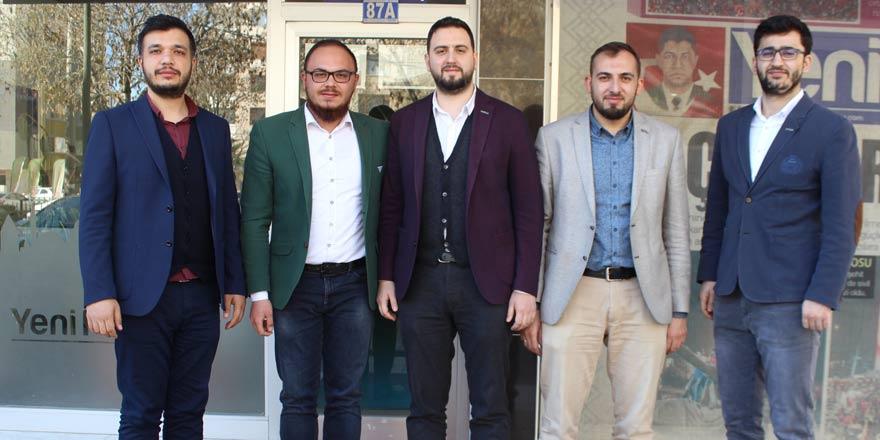 Genç MÜSİAD'tan Yeni Haber'e ziyaret