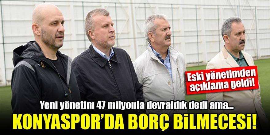 Konyaspor'da borç bilmecesi! Eski yönetim yalanladı