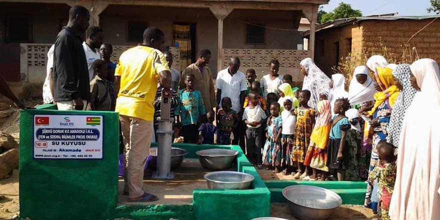 Şükrü Doruk Kız AİHL'den Afrika'da ikinci su kuyusu