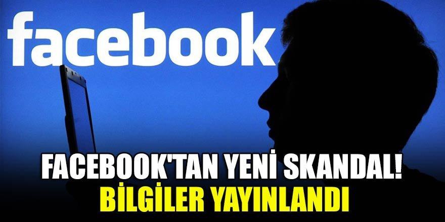 Facebook'tan yeni skandal! Bilgiler yayınlandı