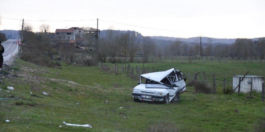 Sinop'ta meydana gelen trafik kazasında 5 kişi yaralandı. ile ilgili görsel sonucu