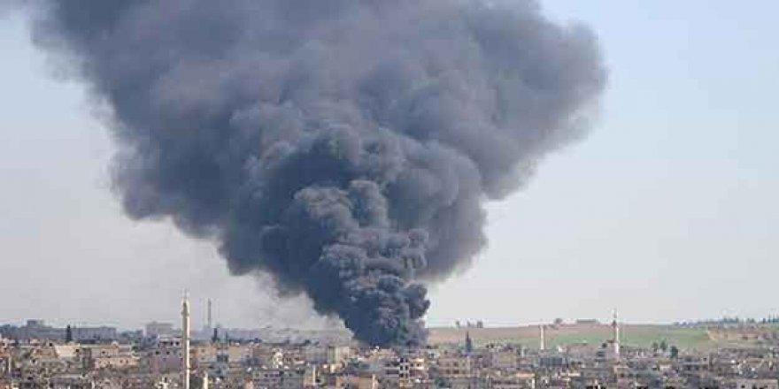 Esed rejiminden İdlib'e saldırı! Yine siviller hedefte