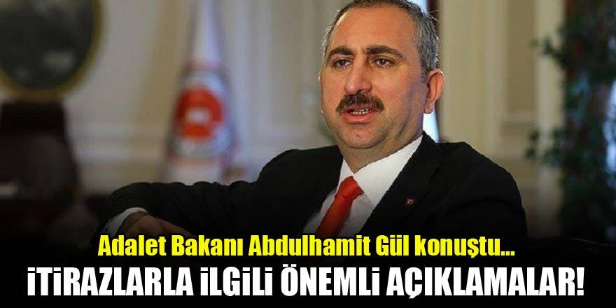 Bakan Gül'den seçimlerle ilgili kritik açıklama…