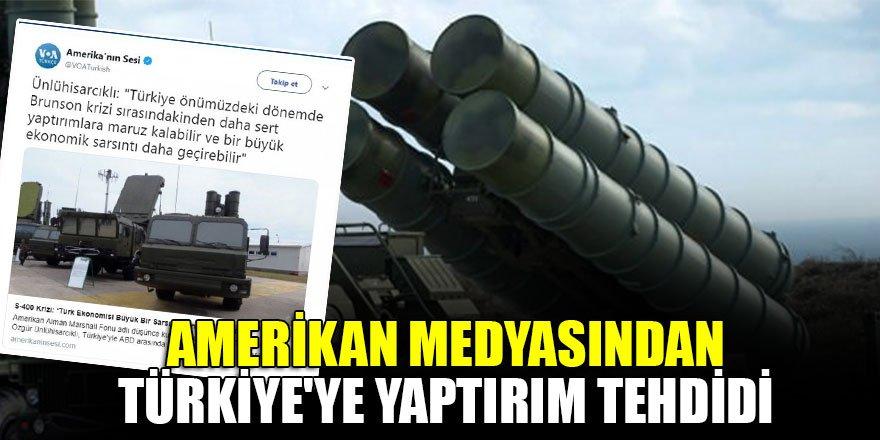Amerikan medyasından Türkiye'ye yaptırım tehdidi…