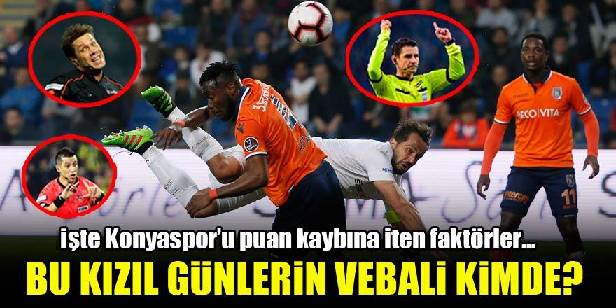 Bu kızıl günlerin vebali kimde? İşte Konyaspor'u puan kaybına iten faktörler…