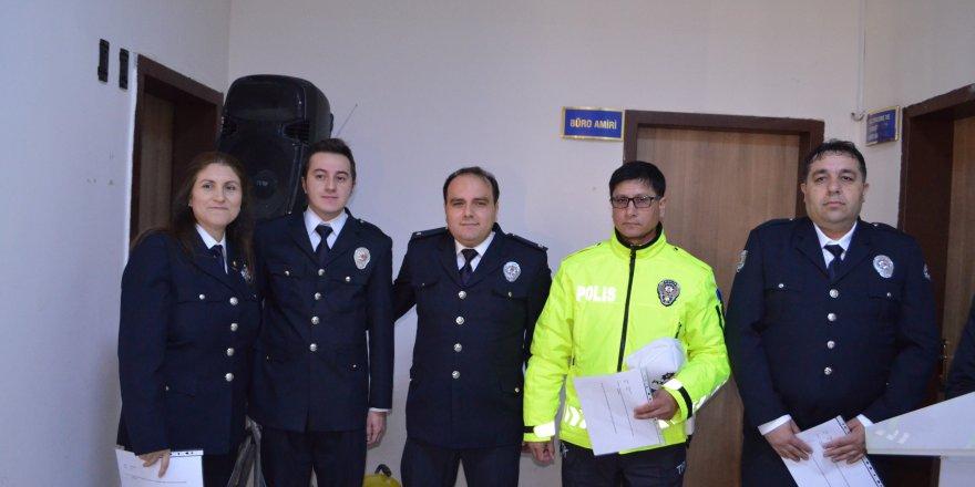 Ilgın'da başarılı polisler ödüllendirildi