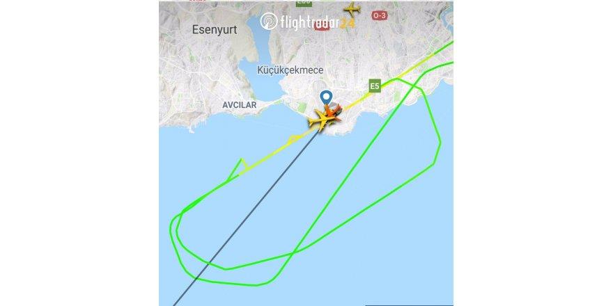 Kargo uçağı kuş sürüsüne girdi