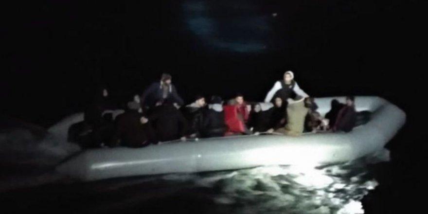 Kuşadası'nda 34 kaçak göçmen yakalandı