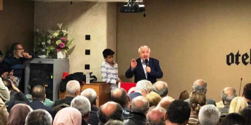 "Mehmet Okuyan Konya'da ""Kur'an'dan Hayata'""konulu konferans verdi"