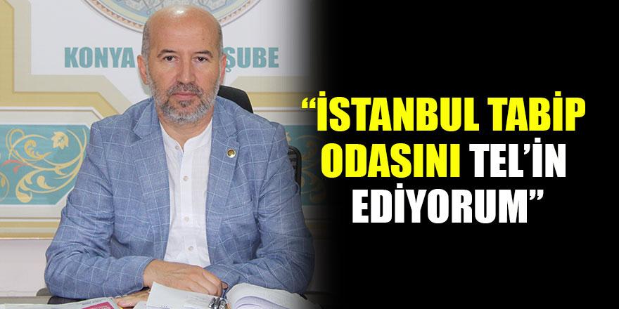 Şenol Metin'den İstanbul Tabipler Odası'na tepki