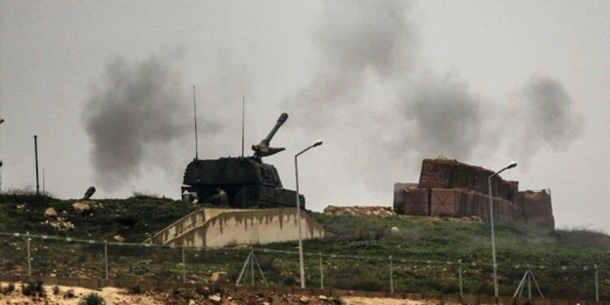 MSB duyurdu! YPG Afrin'e saldırdı