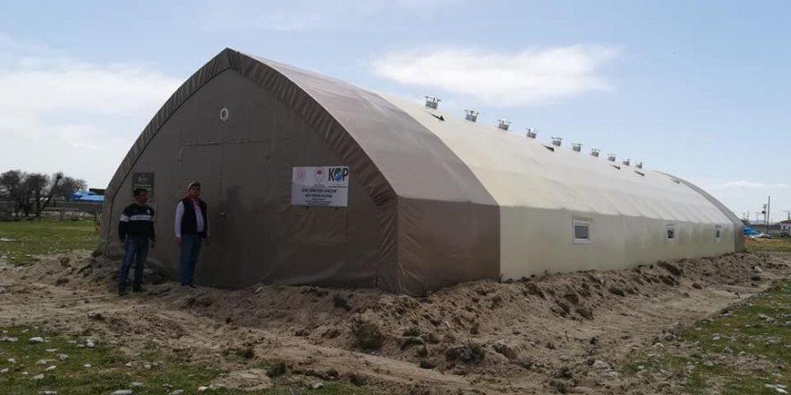 Konya'da çadır hayvan barınaklarının sahipleri kurayla belirlendi