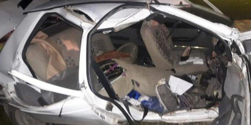 Birecik'te iki otomobil çarpıştı: 9 yaralı