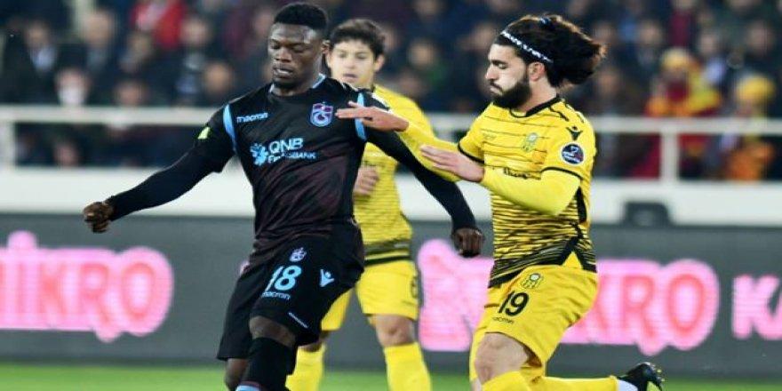 Trabzonspor - Yeni Malatya maçında ilk 11'ler belli oldu