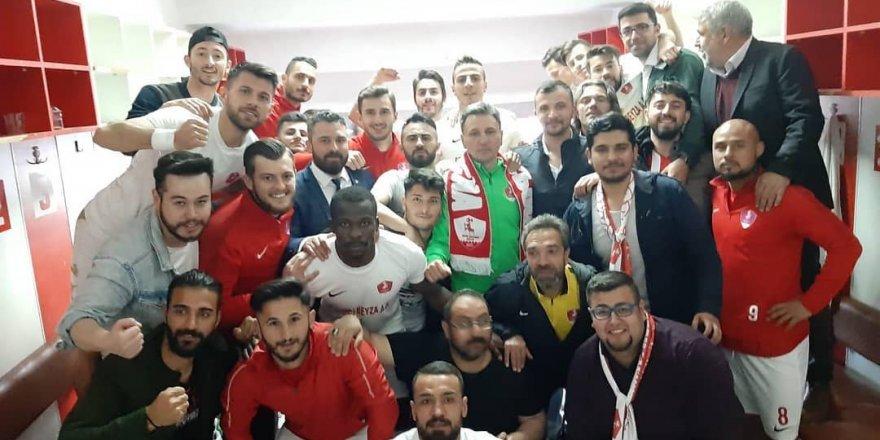 Akşehirspor şampiyon