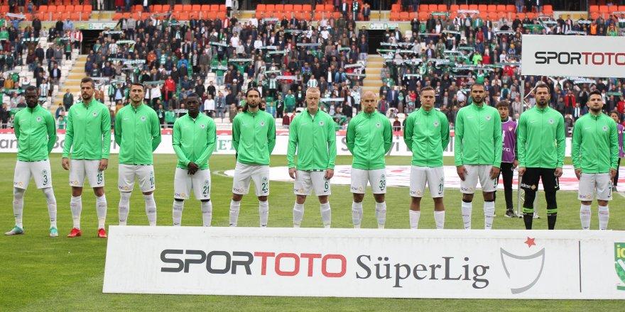Konyaspor, 10 maçtır galibiyete hasret