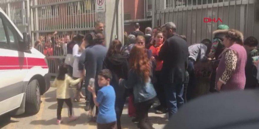 Güngören'de bir okulda patlama meydana geldi