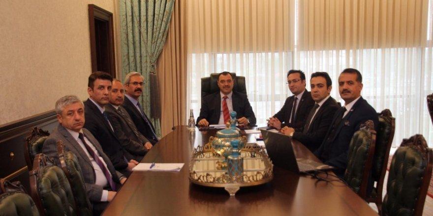 Maden için, Vali Kaldırım başkanlığında toplantı yapıldı
