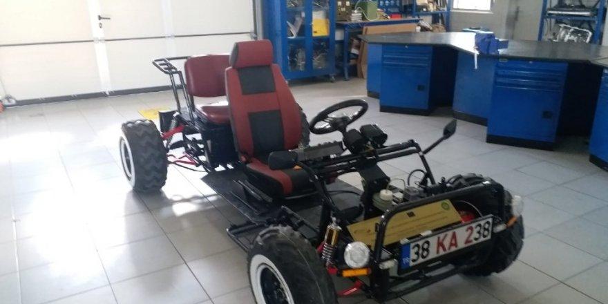 Meslek Liseliler elektrikli araba yaptı