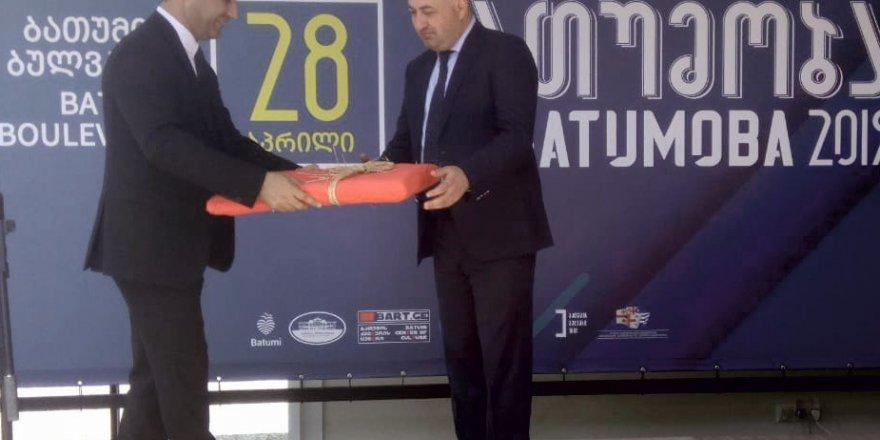Başkan Günel 'Batumoba' etkinliklerinin onur konuğu oldu