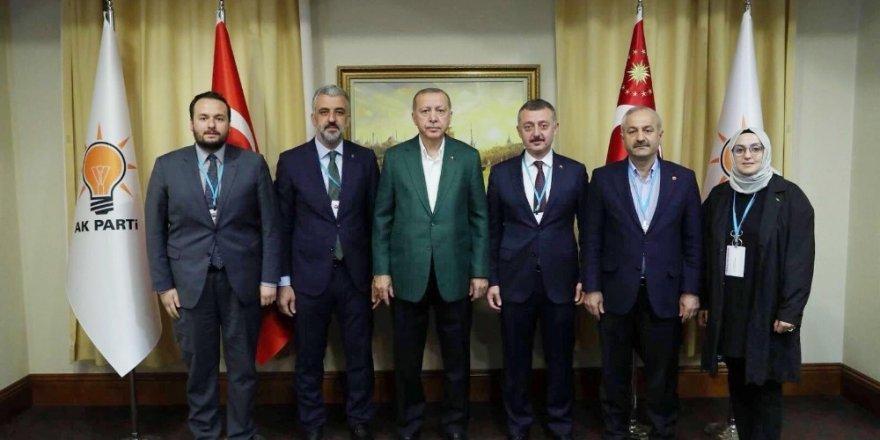 Başkan Büyükgöz, AK Parti istişare toplantısına katıldı