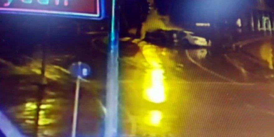 İstanbul'da ölümle sonuçlanan feci kaza kamerada