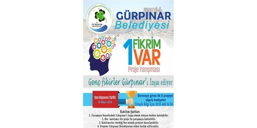 """Gürpınar'da """"Genç Fikirler Gürpınar'ı İnşa Ediyor"""" proje yarışması"""