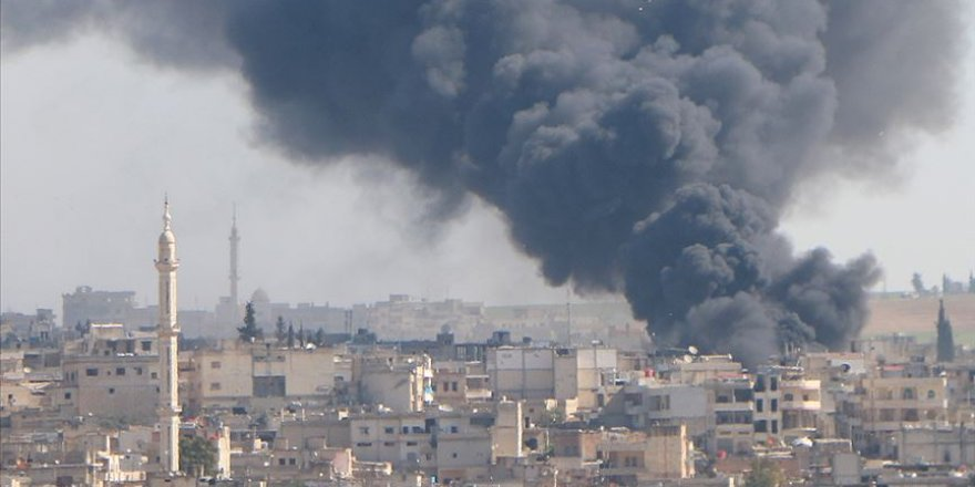 Esed rejimi İdlib'de sağlık merkezi ve okulu vurdu