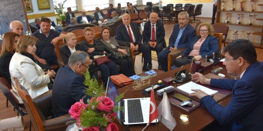 Nazilli Kent Konseyi'nden Başkan Özcan'a ziyaret