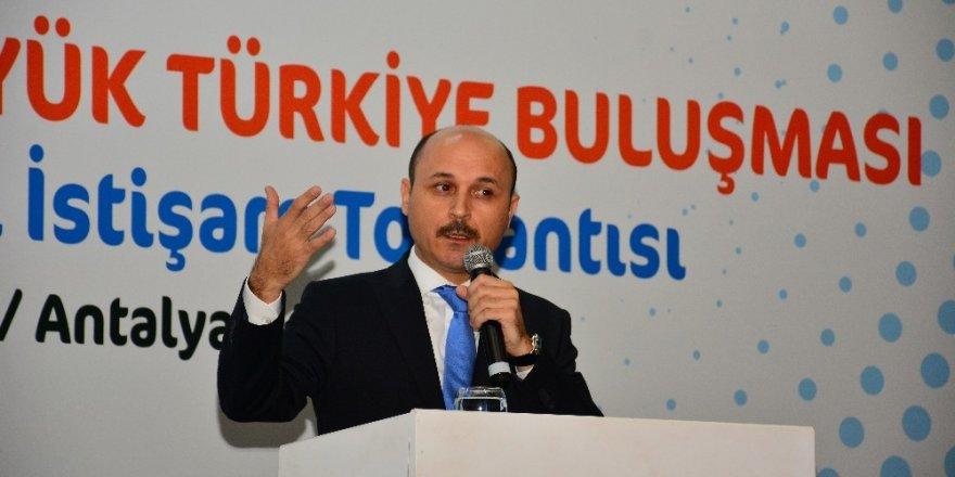 """Türk Eğitim-Sen Genel Başkanı Geylan, """"Tüm kamu çalışanlarını 1 Mayıs'ta Samsun'a bekliyoruz"""""""