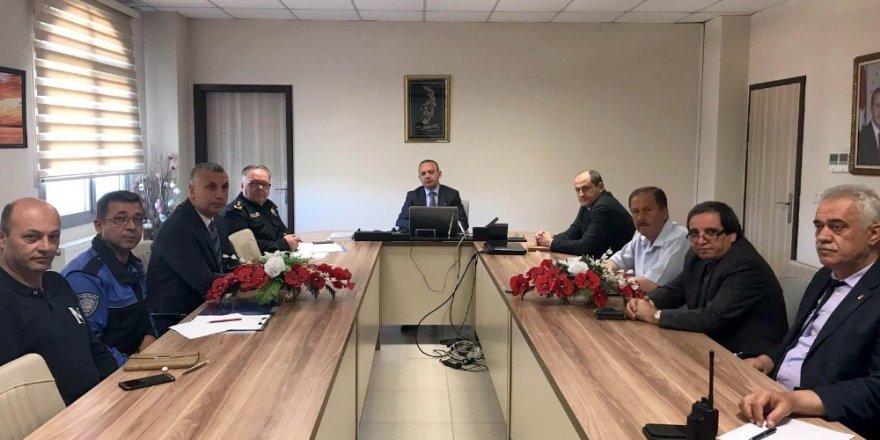 Burhaniye'nin huzur ve güvenliği masaya yatırıldı
