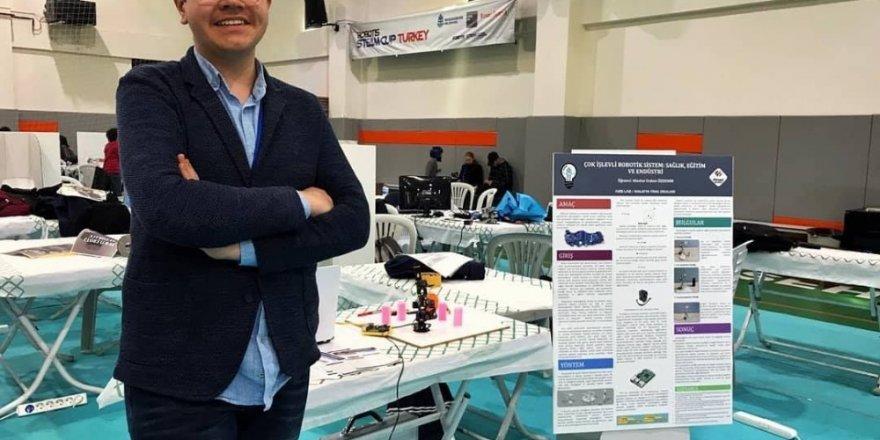 Malatya'dan Robotikte uluslararası başarı