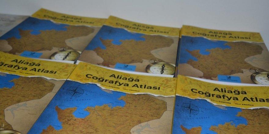 Aliağa Coğrafya Atlası kitabının dağıtımı 3 Mayıs'ta sona eriyor