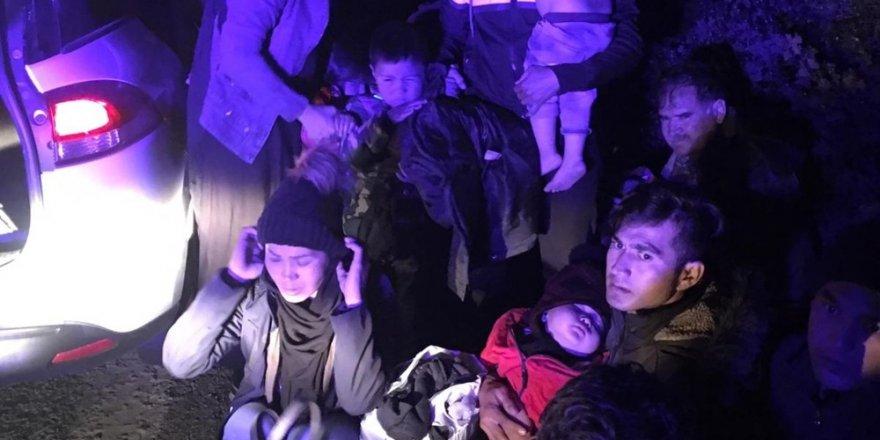 Çanakkale'de 42 mülteci yakalandı