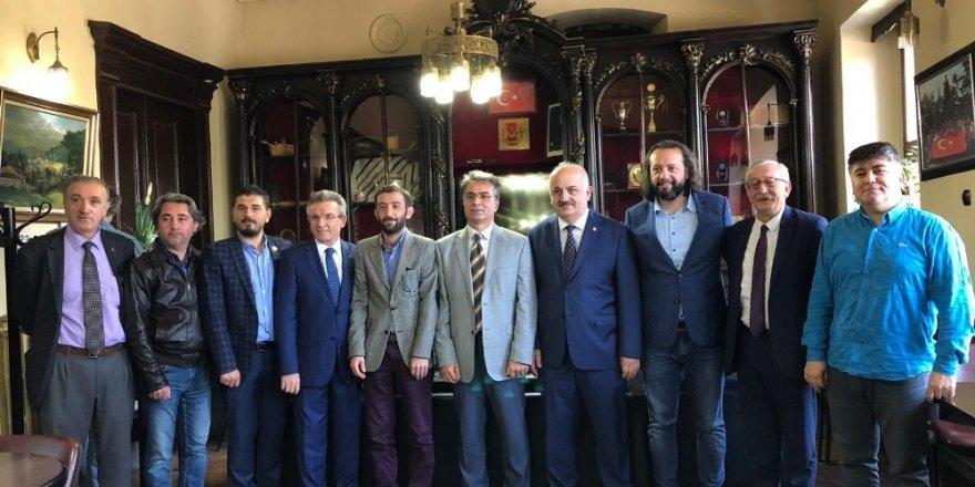"""KTÜ Rektörü Baykal: """"Tıp Fakültesi'nde yapımı süren otopark 2020 yılında hizmete girecek"""""""