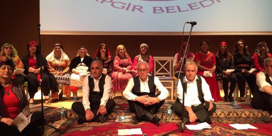 Arapgir'de Türk halk müziği konseri