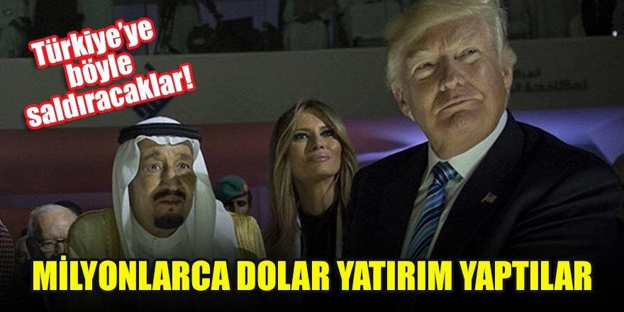 Türkiye'ye böyle saldıracaklar! Milyonlarca dolar yatırım yaptılar