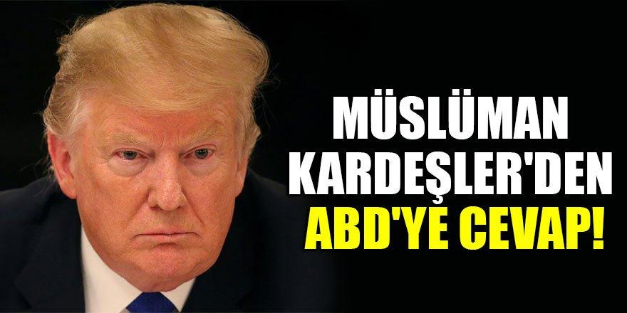 Müslüman Kardeşler'den ABD'ye cevap!
