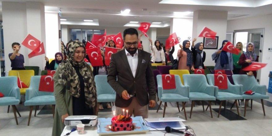 15 Temmuz Gazisine sürpriz doğum günü